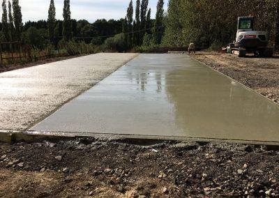 Concrete Base Work